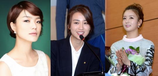 진짜사나이 여군특집에 박하선, 안영미, 윤보미가 물망에 올랐다.