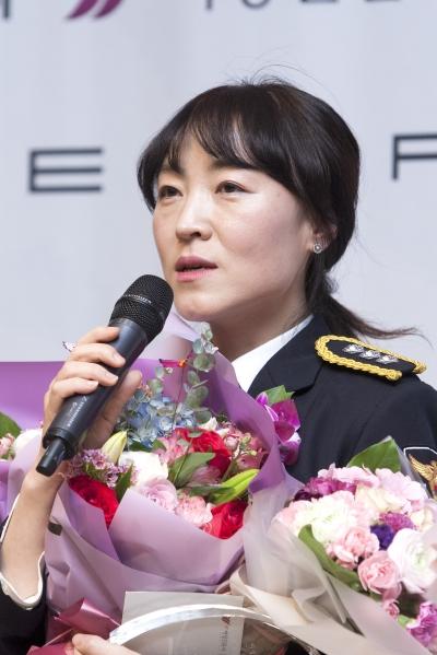 이은애 경찰청 피해자보호담당관실 계장 ⓒ이정실 여성신문 사진기자
