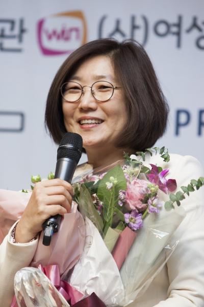 장보임 사회복지공동모금회 나눔연구소장 ⓒ이정실 여성신문 사진기자
