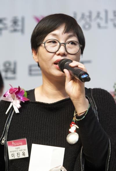 이진옥 젠더정치연구소 여.세.연 대표 ⓒ이정실 여성신문 사진기자