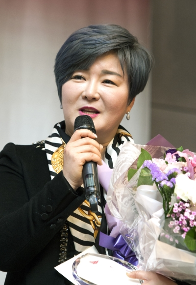 배경희 아시아우슈연맹 기술위원 ⓒ이정실 여성신문 사진기자