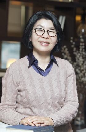 윤소라 한국여성벤처협회 회장 ⓒ이정실 사진기자