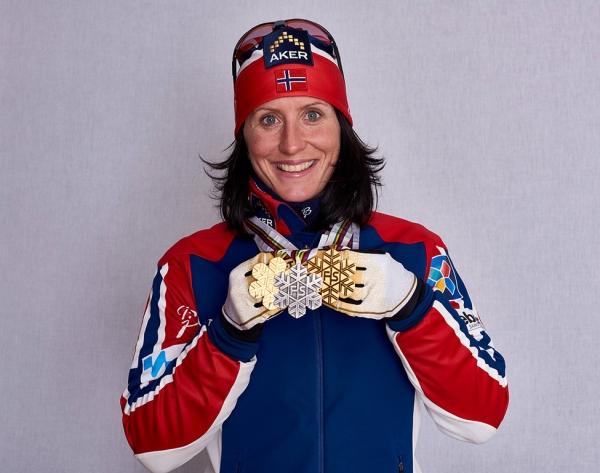 노르웨이 크로스컨트리 스키 선수 마리트 비에르옌은 10일 획득한 은메달까지 합해 여성 선수로서는 동계올림픽 사상 가장 많은 메달(11개)을 차지한 선수가 됐다. ⓒWikimedia