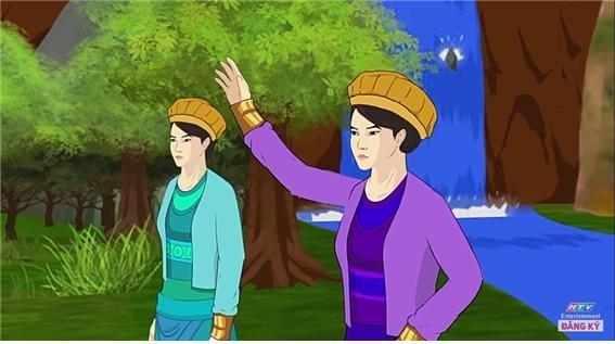 쯩 자매의 생애를 다룬 만화. ⓒ유튜브 영상 캡쳐