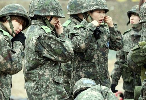 진짜사나이 출연진들 모습. ⓒMBC '진짜사나이'