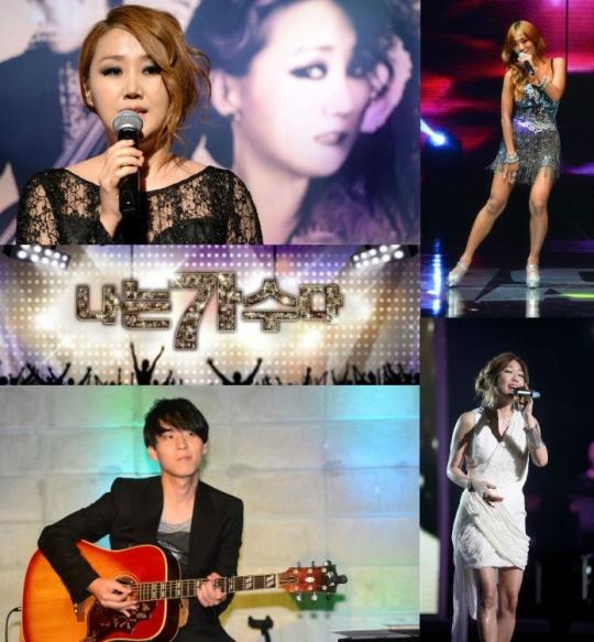 21일 MBC 프로그램 나는 가수다3(이하 나가수3)의 첫 경연이 열린다. 출연진도 이날 발표돼 관심이 모이고 있다.