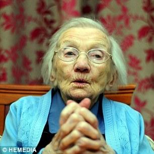 스코틀랜드 최고령 할머니 제시 갤런(109) ⓒ영국 데일리메일