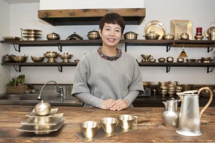 김순영 놋그릇 가지런히 대표.