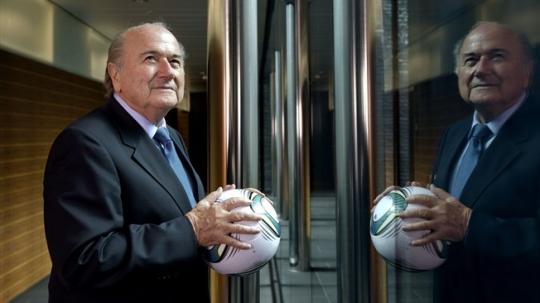 FIFA 회장 선거의 후보가 제프 블래터 현 회장 등 4명으로 정해졌다. ⓒFIFA 홈페이지