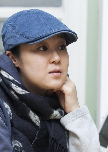 이재은은 연극 '숨비소리'가 끝난 후 구체적인 계획이 없지만 한국무용을 전공한 남편과 새로운 무대를 선보이는 것이 꿈이라고 말했다. ⓒ이정실 여성신문 사진기자