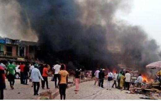 사진은 기사와 직접적인 연관이 없습니다. 나이지리아의 조스 시에서 발생한 폭탄 테러. ⓒBBC 뉴스