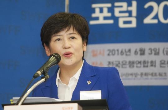 강은희 여성가족부 장관. ⓒ이정실 여성신문 사진기자