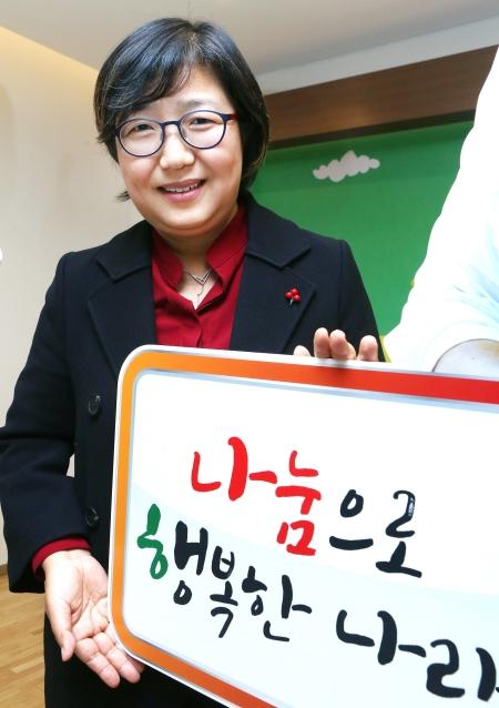 김연순 사회복지공동모금회 사무총장 ⓒ이정실 여성신문 사진기자