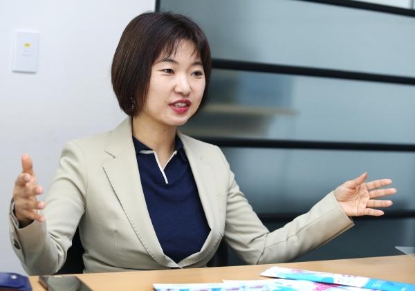 정은경 리빙스텝 대표 ⓒ이정실 여성신문 사진기자