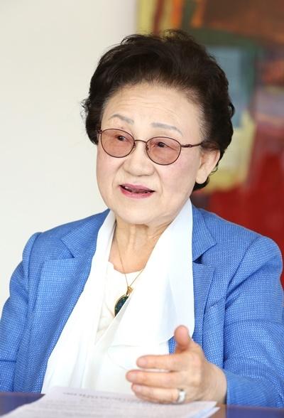 홍순의 전 9대 총재 ⓒ이정실 여성신문 사진기자