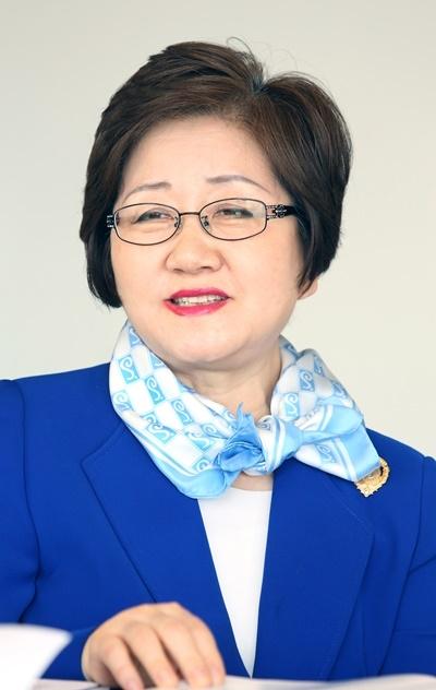 신효철 현 23대 총재 ⓒ이정실 여성신문 사진기자