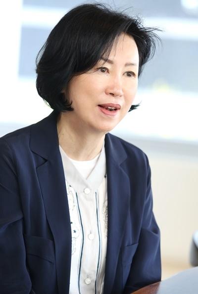 이운경 재정위원장 ⓒ이정실 여성신문 사진기자