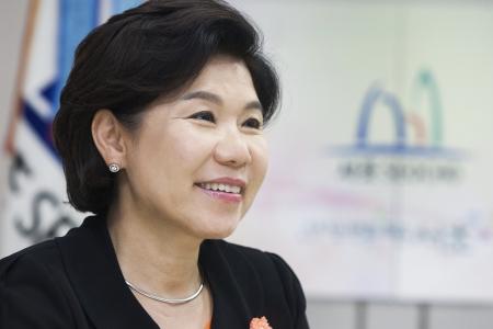 조은희 서초구청장 ⓒ이정실 여성신문 사진기자