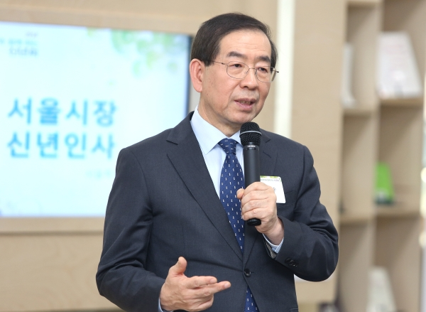 박원순 서울시장 ⓒ이정실 여성신문 사진기자