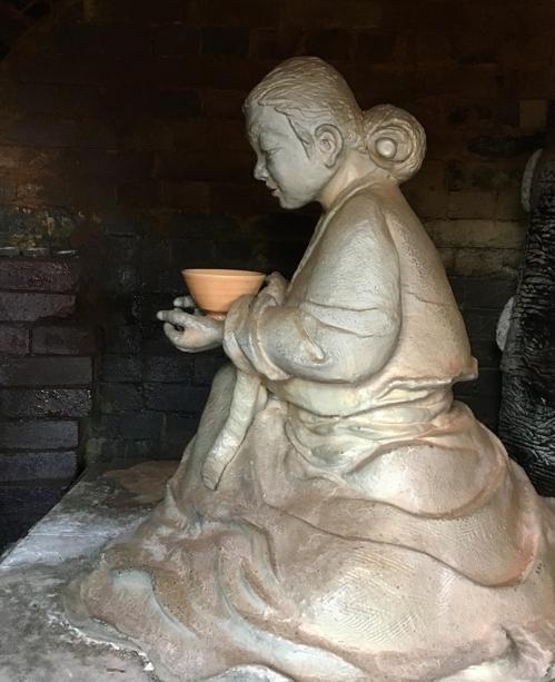 오는 29일 조선 여성 사기장 백파선의 기념상이 일본 아리타에 세워진다. ⓒ조선도공기념사업회