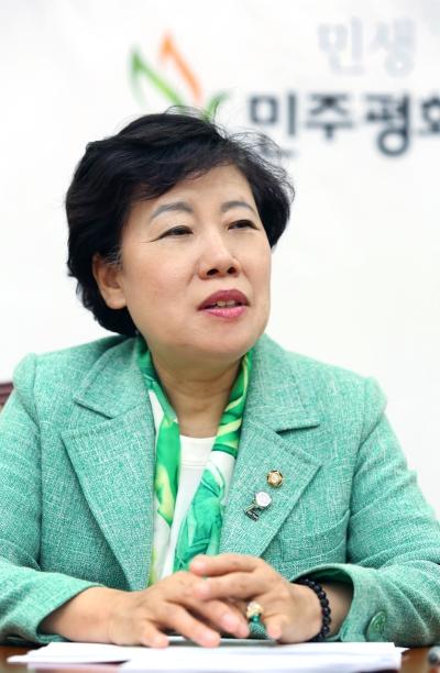 조배숙 민주평화당 대표 ⓒ이정실 여성신문 사진기자