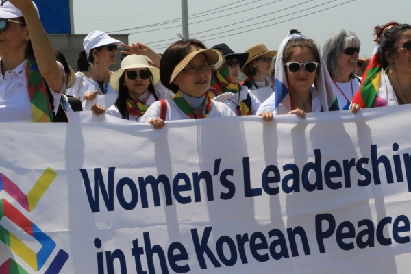 장미란 한국YWCA연합회 평화통일위원장 ⓒ한국YWCA연합회