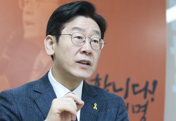 이재명 경기도지사 후보 ⓒ이정실 여성신문 사진기자