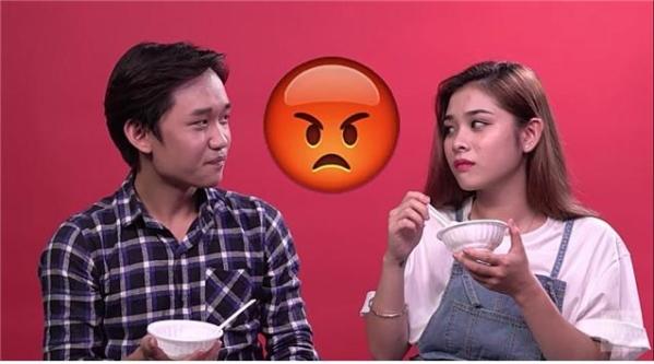 하노이 음식을 처음 먹어보는 호찌민 사람들의 반응을 담은 영상 캡쳐. ⓒ유튜브 meWOW
