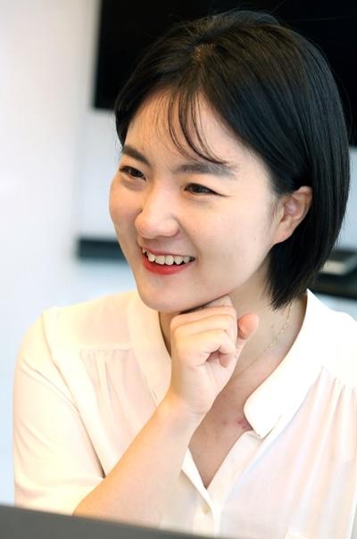 """홍지애 액셀러레이팅 매니저는 """"투자자와 액셀러레이터, 창업가 모두 젠더 렌즈를 낄 필요가 있다""""고 강조했다. ⓒ이정실 여성신문 사진기자"""