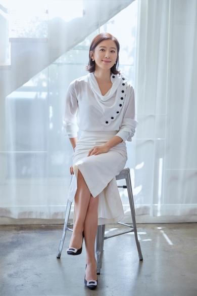 배우 김희애 ⓒYG엔터테인먼트