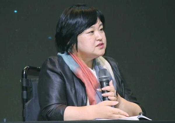 김미연 장애여성문화공동체 대표 ⓒ이정실 사진기자