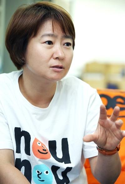 장영화 oec 대표 ⓒ이정실 여성신문 사진기자