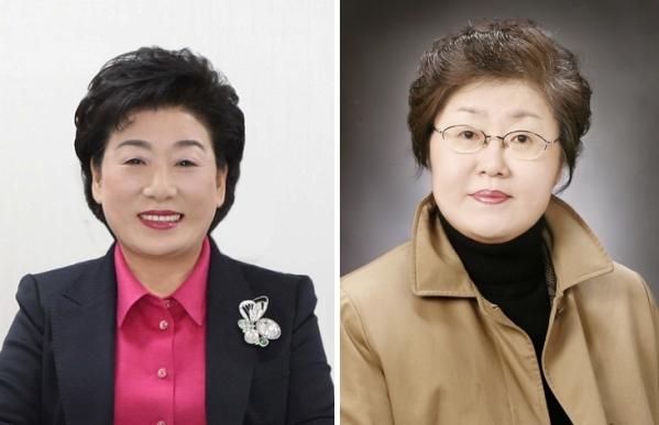김은숙 전 부산중구청장 이기숙 (사)여성인권지원센터 살림 이사장 ⓒ부산시