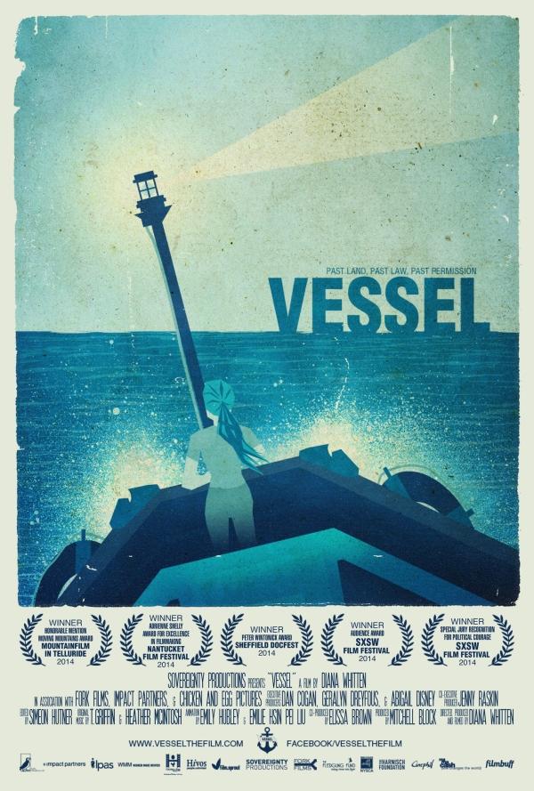 다큐멘터리 '파도 위의 여성들' (Vessel) 포스터