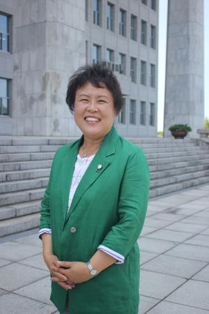 양미강 민주평화당 전국여성위원장 후보 ⓒ진주원 여성신문 기자