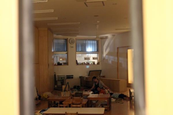 후쿠오카시 하카타구에 위치한 도론코(どろんこ) 야간보육원의 한 쪽 공간에서 아이들이 자고 있다. 도론코 보육원은 오전 7시부터 새벽 2시까지 운영된다. ⓒ후쿠오카=이유진 기자