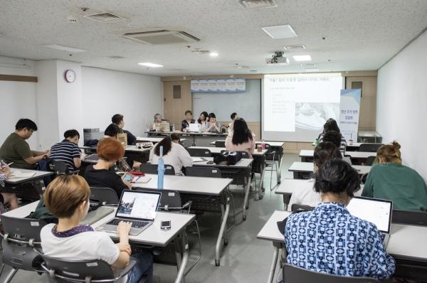 9일 서울 동작구 서울여성플라자에서 '성평등하고 안전한 주거생활'을 주제로 여성가족부 성평등 드리머 집담회가 열렸다. ⓒ여성가족부