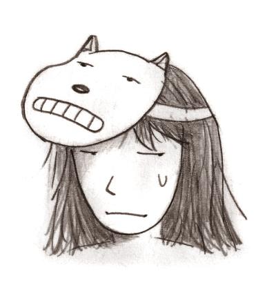 들개이빨 작가가 그린 자신의 캐릭터 ⓒ들개이빨