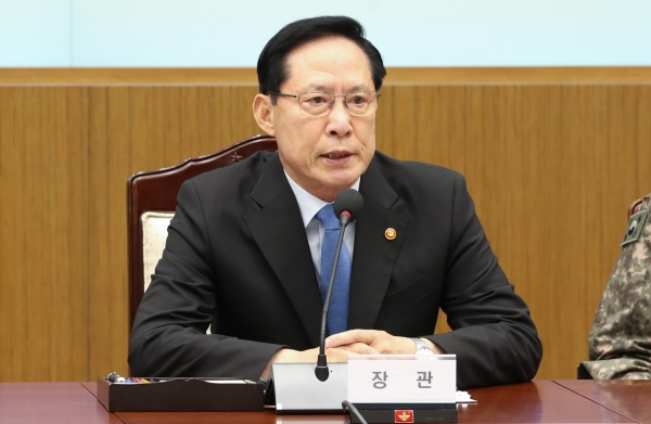 송영무 국방부장관 ⓒ뉴시스·여성신문