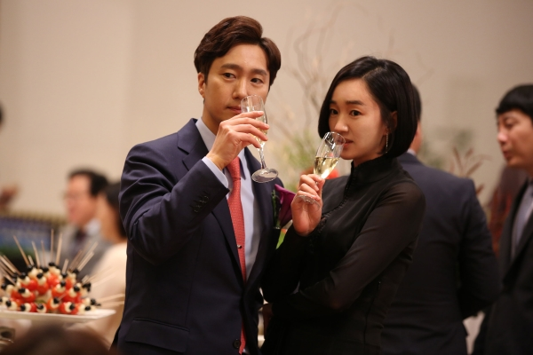 영화 '상류사회' 의 한 장면.