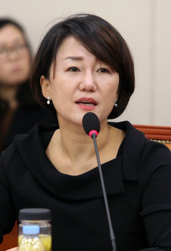 국회 행정안전위원회 소속 이재정 더불어민주당 의원. ⓒ이정실 여성신문 사진기자