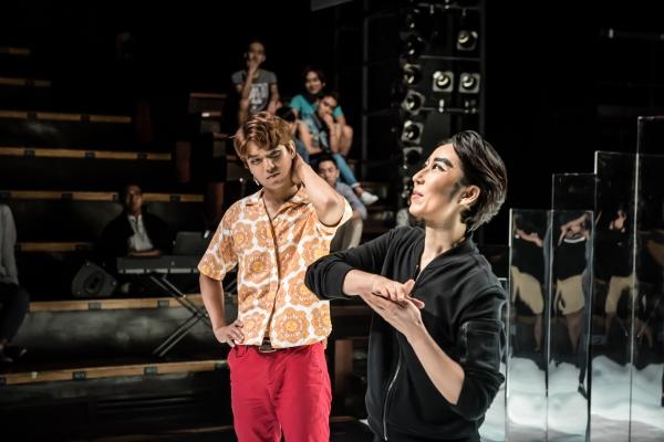 여성국극을 소재로 한 연극 '변칙 판타지'의 한 장면. 정은영 작가가 연출을 맡았다. ⓒ남산예술센터 제공