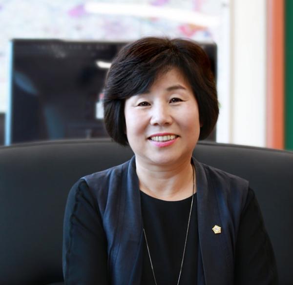 김영애 아산시의회 의장 ⓒ아산시의회