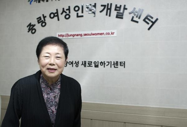 이보섭 중랑여성인력개발센터 관장 ⓒ이정실 여성신문 사진기자