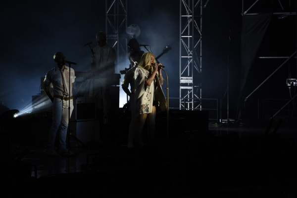 미국 팝스타 케샤(Kesha·31)의 첫 내한공연이 지난 14일 저녁 서울 서대문구 연세대 노천극장에서 열렸다. ⓒ디투글로벌컴퍼니 제공