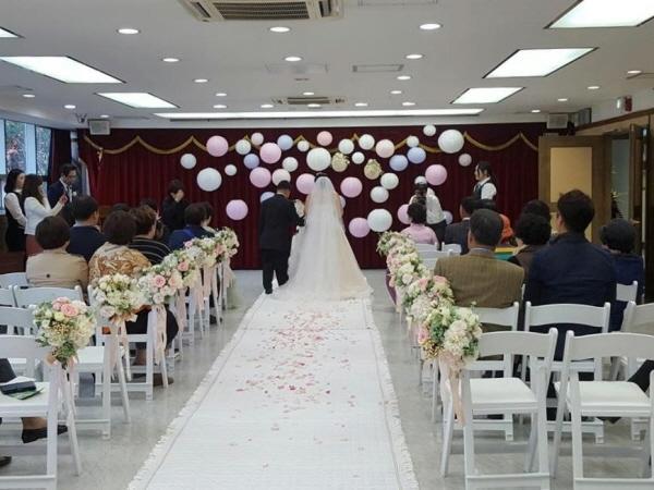 서대문구청 기획상황실 결혼식 정경 ⓒ서대문구청