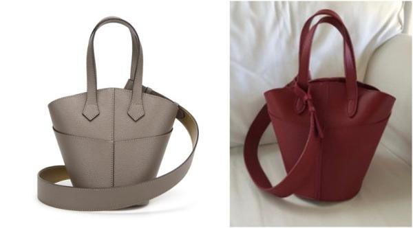 팔라 K-BAG PLUS 정품(왼쪽)과 모조품(오른쪽) ⓒ주식회사 세스디