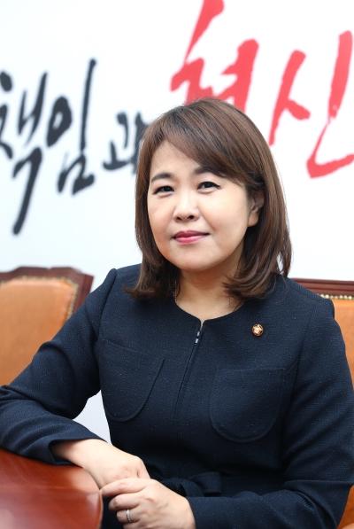 송희경 자유한국당 중앙여성위원장 ⓒ이정실 여성신문 사진기자
