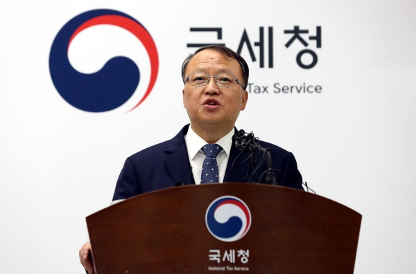 한승희 현(22대) 국세청장 ⓒ뉴시스·여성신문