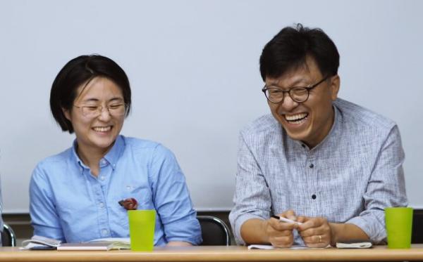 14일 녹색당 새 공동운영위원장에 신지예 전 서울시장 후보와 하승수 비례민주주의연대 공동대표가 당선됐다. ⓒ녹색당